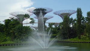Super Trees im Gardens by the Bay