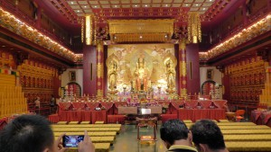 Der Buddha Tooth Relic Temple in Chinatown